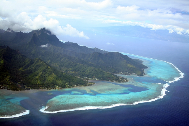 South Pacific island