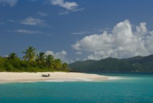 BVI secluded beach