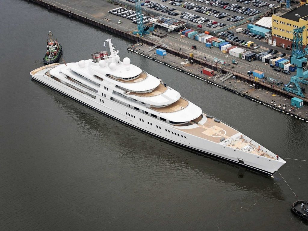 Largest Motor Yacht in the World