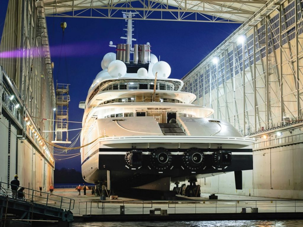 The Largest Motor Yacht in the World