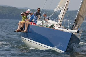 New England sail boat racing