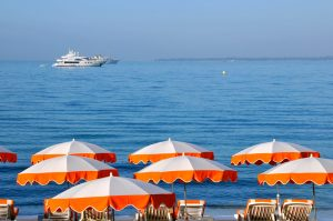 French-Riviera-Beach-Umbrellas