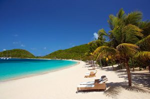 BVI beach lounge chairs