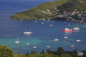 Admiranty Bay in Bequia