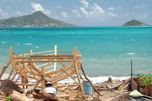 Artesenal boatbuilding in Carriacou