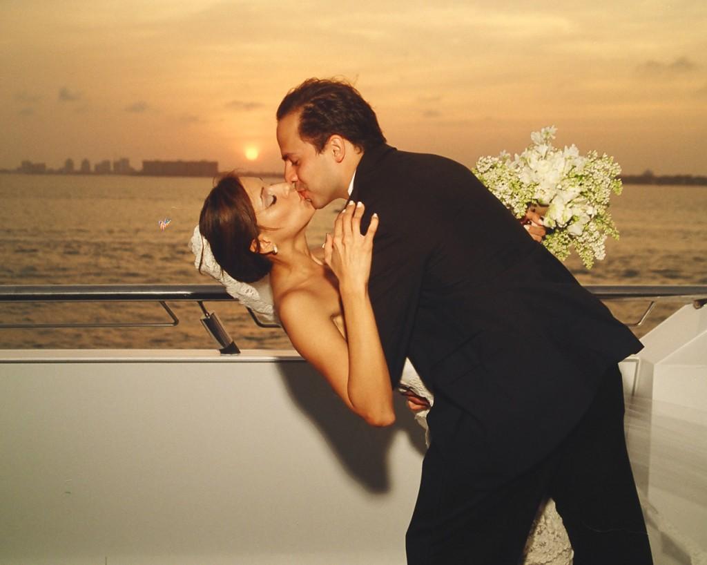 yacht Wedding honeymoon