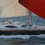 sail boat in the BVI