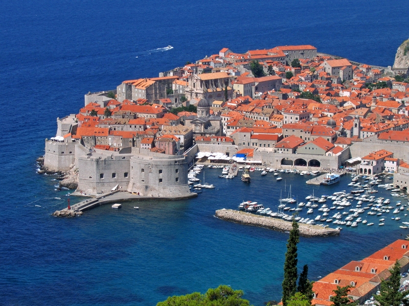 croatia seaside city