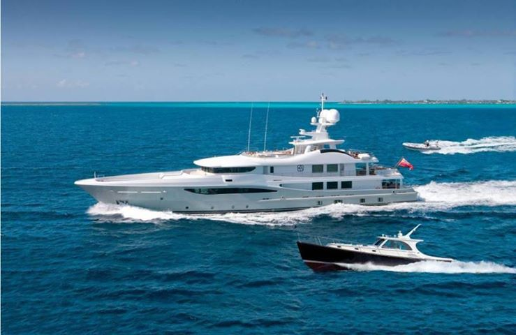 Belle Aimee - a new charter yacht on the block
