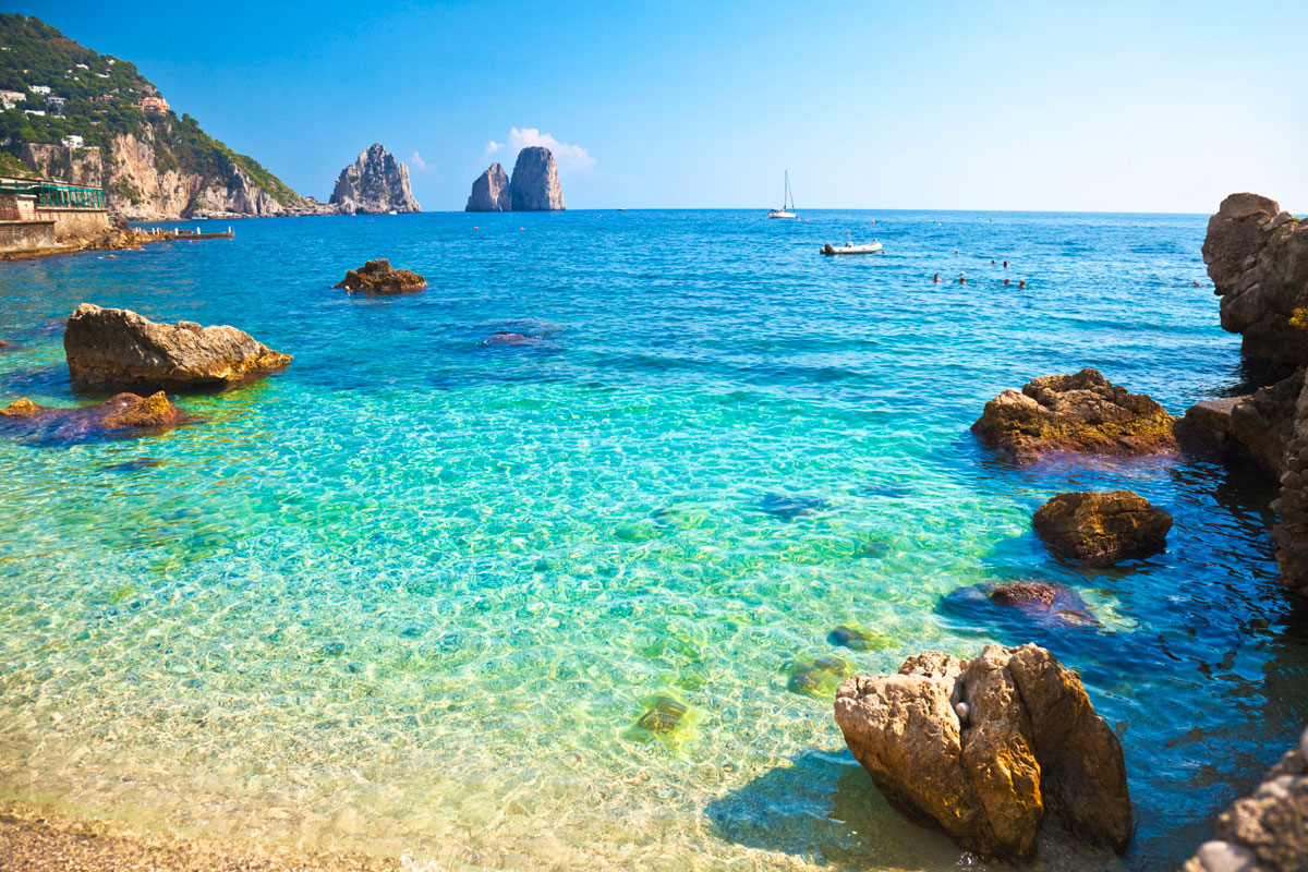 Amalfi Coast Beach
