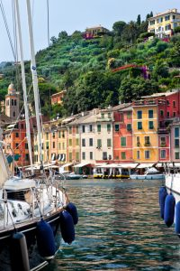 italian boat harbor