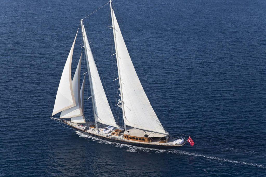 regina sailing charter yacht