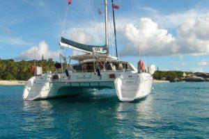 belline ll bvi sailing catamaran