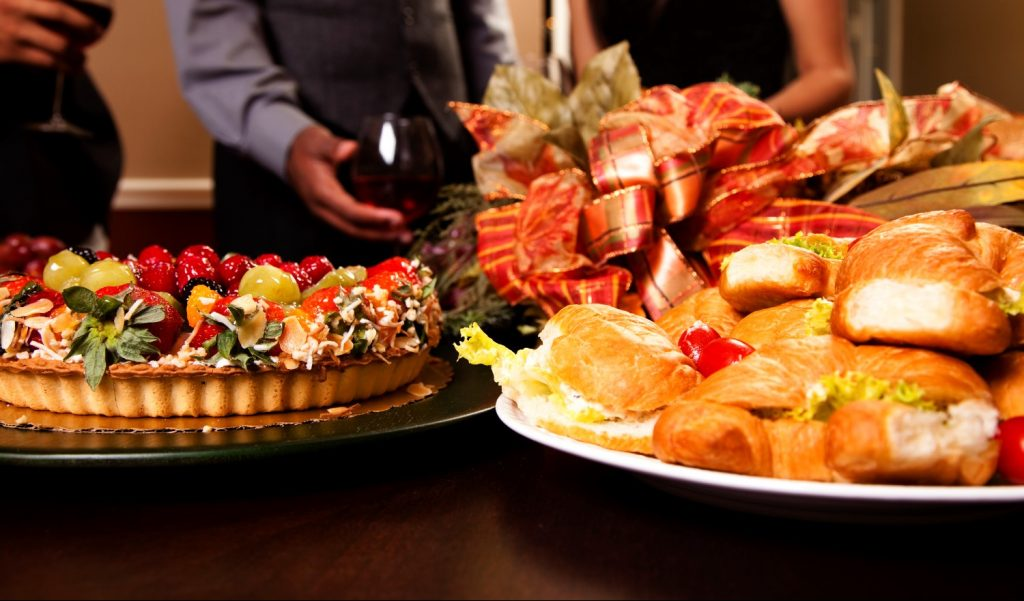 corporate events buffet