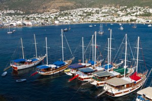 Turkish Gulet in Bodrum