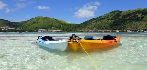 3 kayaks in Saint Maarten