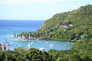Marigot bay st lucia Port La Royal