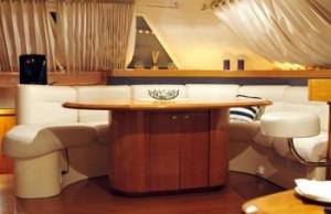 vision catamaran saloon